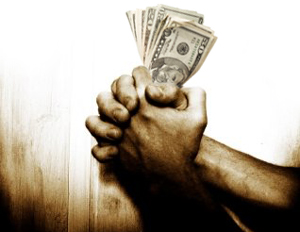 Praying-Hand---money