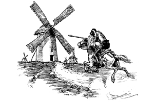 NOBLE OCCUPATION: A Little Bit of Don Quixote in All the Best Fundraisers