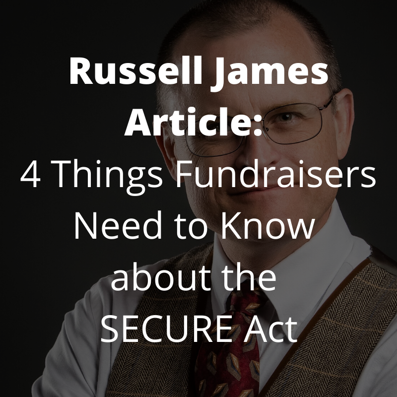 Russell James SECURE Act Article
